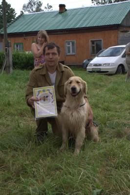 25-27 июня 2010 года, пос. Уварово, Московская область. Мы сделали это! 82 балла и диплом I степени по подаче битой дичи