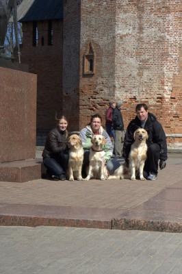 19 апреля 2009 года, г. Смоленск. Хозяева были очень довольны моими победами, а я собой, так как заслужил титул «ЧЕМПИОН РОССИИ»