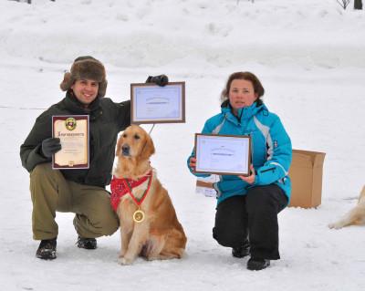 Выражаем благодарность Макаренко Адаму и его собаке Оника Стрейзи Алмай Дог за хорошее выращивание и воспитание собаки