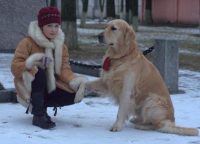 Обучите собаку правильно вести себя в обществе, не будьте равнодушным к ее потребностям - и она ответит вам безграничной любовью