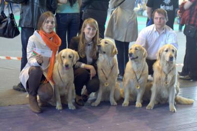 Все участники шоу на память об участии в шоу получили памятные медали от организатора шоу –   первого портала о животных PETS. BY