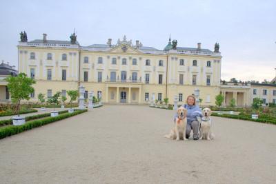 """Подляшский Версаль"""" — роскошный дворец в стиле барокко"""