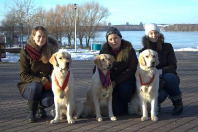 4 собаки нашего питомника получили титул Чемпион Беларуси: