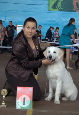 Дариан Вланти Делимар (Беларусь)- большая перспектива, лучший щенок кобель, лучший щенок  породы