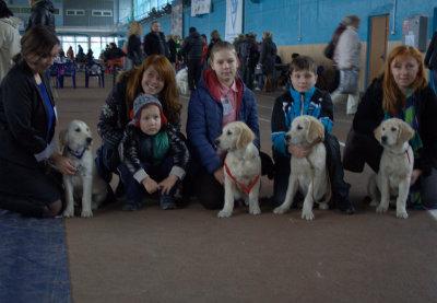 2 ноября 2014 г на Республиканской выставке собак всех пород под экспертизой Cairovic Vladimir получил оценку: большая перспектива, лучший беби кобель